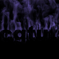 Preview for Create a Cool Smoking Text Effect using Fluid Mapping with Particle Flow