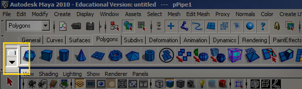 Procedural Modeling with MEL Script in Maya - Day 1