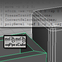 Preview for Procedural Modeling with MEL Script in Maya - Day 1