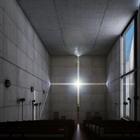 Preview for Texturing, Lighting & Rendering 'The Church Of Light' in 3ds Max