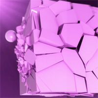 Preview for Using Xplode to Shatter Objects in Cinema4D