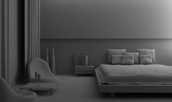 Modeling rendering an interior scene using 3ds max and for Interior modeling in 3ds max
