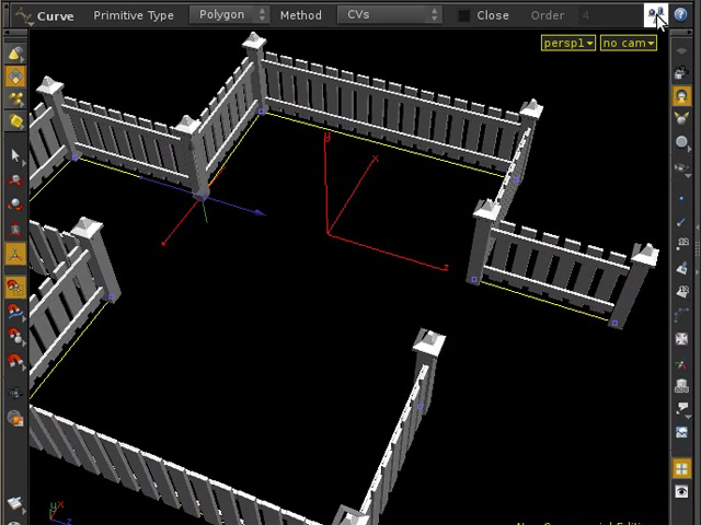 Create an 'Auto-Fence' asset in Houdini - The Asset