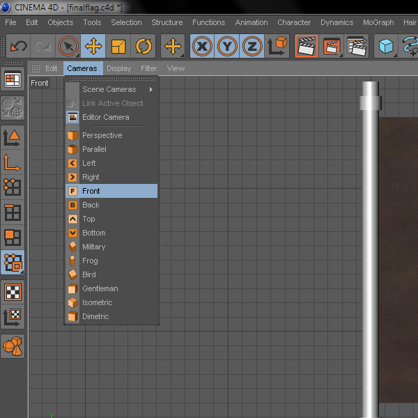 Tattered Cloth In Cinema4D: Part 2