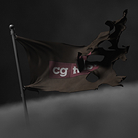 Thumb 3d cg vfx c4d cinema cloth flag animation simulation