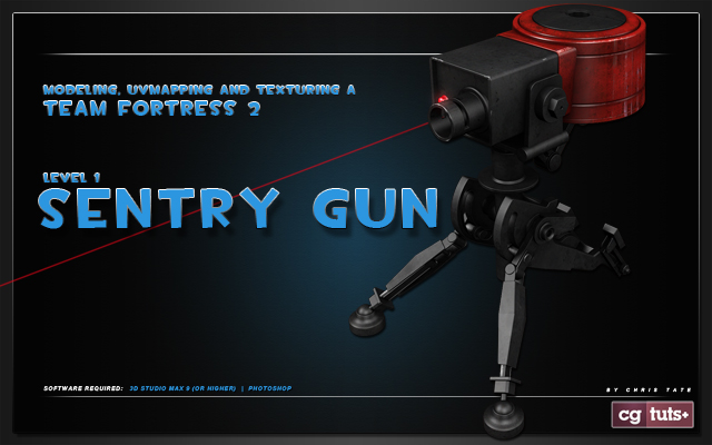 Tf2 sentry gun modeling day 1 valves team fortress 2 is one hell of an awesome game so were excited to launch a brand new tutorial series covering the creation of a high res sentry malvernweather Choice Image