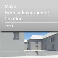 Preview for Maya Exterior Environment Creation - Day 2