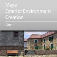 Preview for Maya Exterior Environment Creation - Day 5