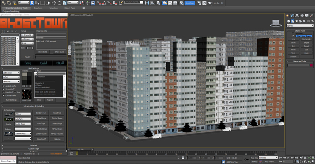 Create A Detailed City With 3d Studio Max