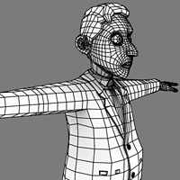 Preview for How To Render Wireframes With Ambient Occlusion In Maya, Using Mentalray