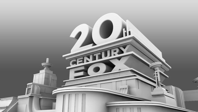 Hollywood Film Studio Logo Animation Series 20th Century