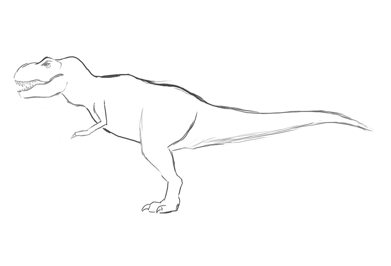 Modeling Uvmapping And Texturing A Low Poly T Rex In Blender Part 1