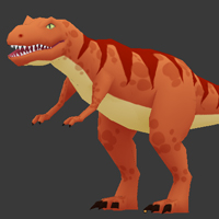 Preview for Modeling, UVmapping And Texturing A Low Poly T-Rex In Blender: Part 2