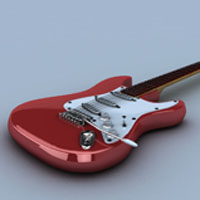 Preview for Rendering A Realistic Guitar In Maya Using VRay