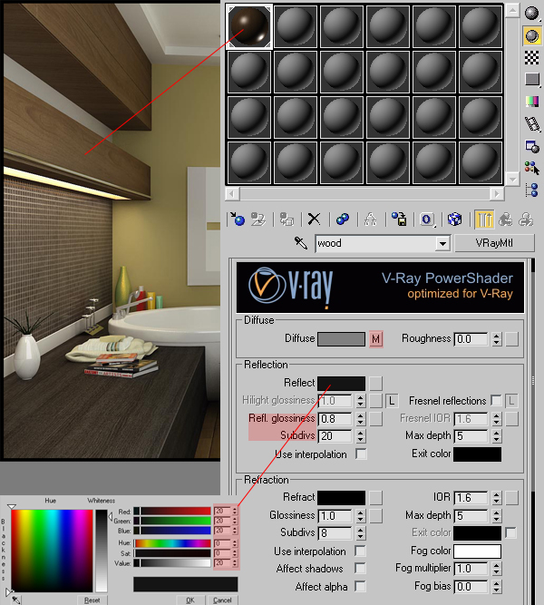 Achieving realistic results with 3ds max v ray an for 3d max vray interior lighting tutorial