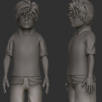 Preview for Create A Stylized Character With Maya And ZBrush - Part 3