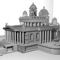 Preview for Creating A Temple In Maya, A Basic Modeling Workflow