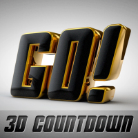 Preview for Creating A Stylish 3D Countdown Animation In Cinema 4D