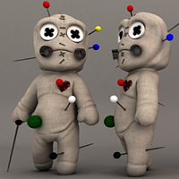 Preview for Rigging A Voodoo Doll Character In Maya: Part 1