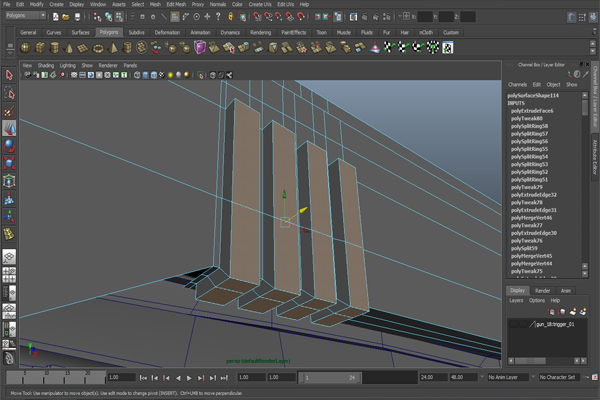 Creating A Futuristic Weapon In Maya Modeling And Adding Additional Details