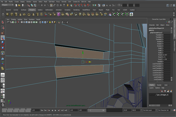 Cgtuts Free Tutorial Modeling A Futuristic Weapon In Autodesk Maya