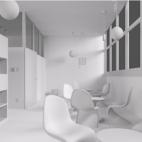 Preview for Modeling A Modern Interior Scene In Blender