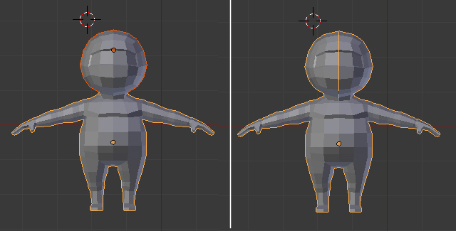 Blender Character Modeling Book : Creating a low poly ninja game character using blender part