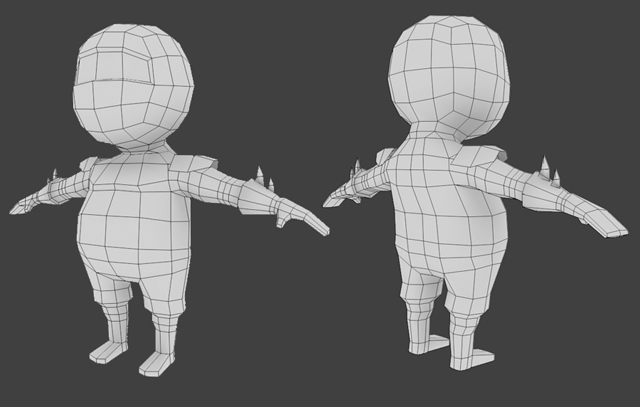 Introduction To Character Modeling In Blender Free : Creating a low poly ninja game character using blender part