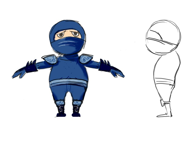 Creating a low poly ninja game character using blender part 1 download the reference materials for this tutorial malvernweather Image collections