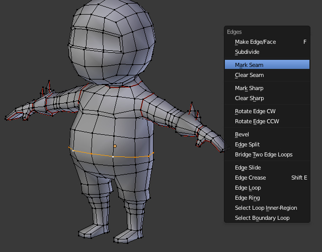 Blender Character Modeling 8 Of 10 : Creating a low poly ninja game character using blender part