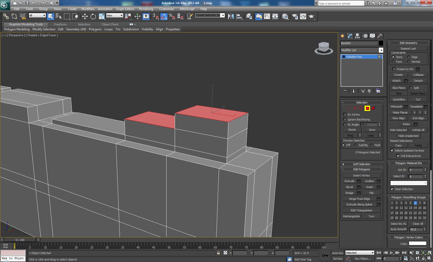 Modeling a futuristic bolt gun in 3d studio max for 3d studio max