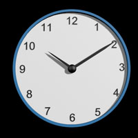 Preview for Creating An Animated Clock In 3ds Max Using Expressions & Custom Attributes