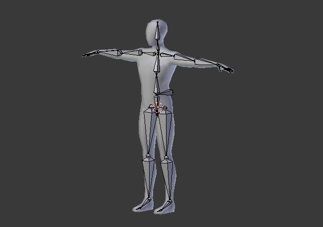 Blender Character Modeling And Rigging : Building a basic low poly character rig in blender