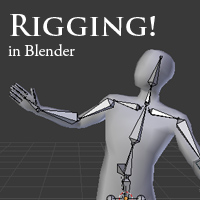 Preview for Building A Basic Low Poly Character Rig In Blender