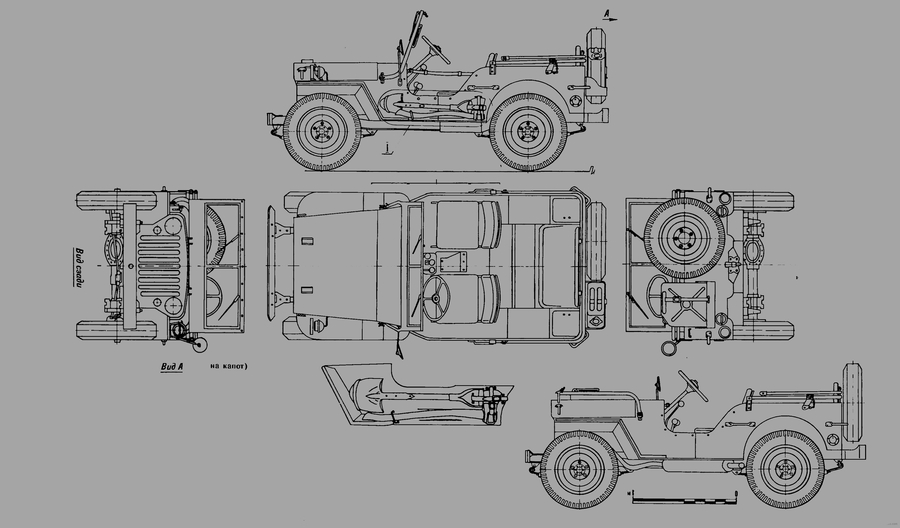 willys jeep ww2 trailer diagram ww2 destroyed jeep
