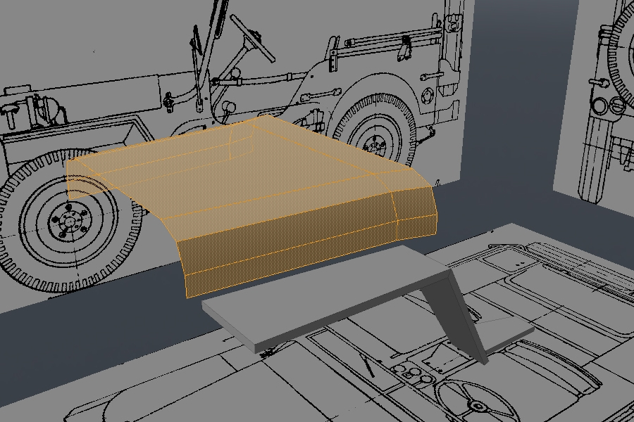 modeling a high poly world war ii willys jeep in modo part 2