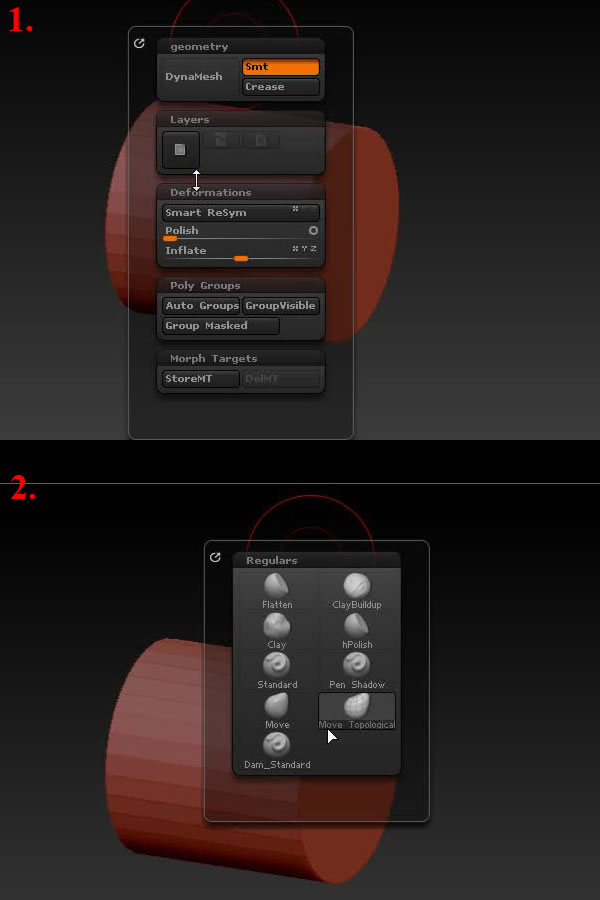 A Basic Introduction to Working with & Customizing ZBrush