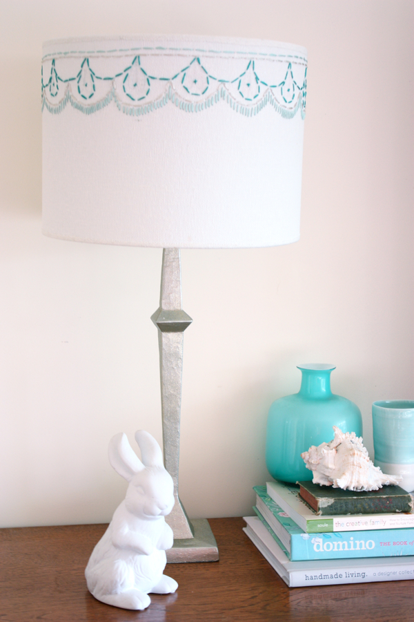 Give a Boring Lampshade a Brand New Look