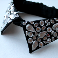 Embellished jewelled collar 2005