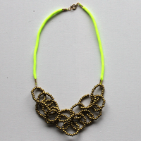 Neon rope necklace 200