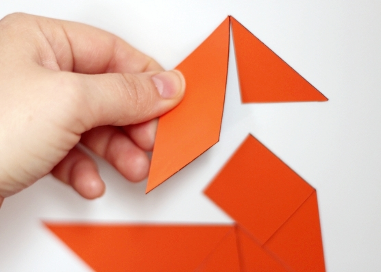 tangram magnets tutorial play