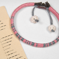 Make a wrapped leather secret code bracelet4 200x200