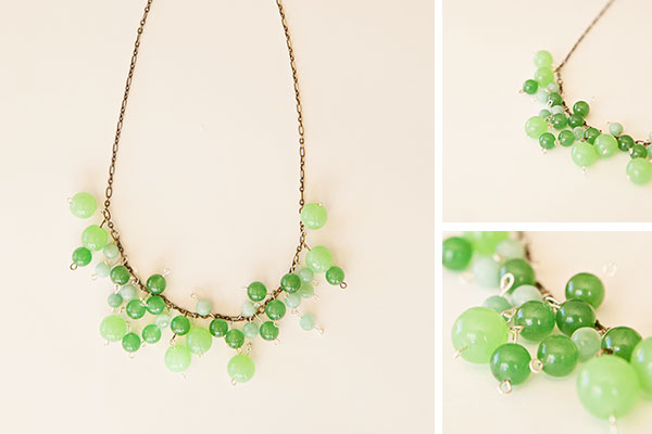 Baubled Necklace DIY