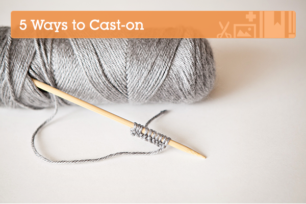 Knitting Tutorial Cast On : Knitting fundamentals different ways to cast on tuts