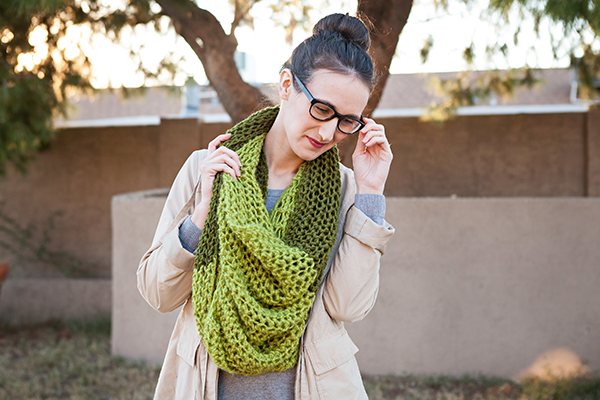 Two-toned Scarf Chunky Scarf