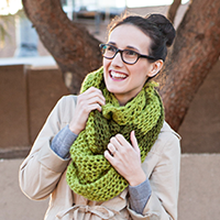 Preview for How to Knit a Chunky Cowl Scarf