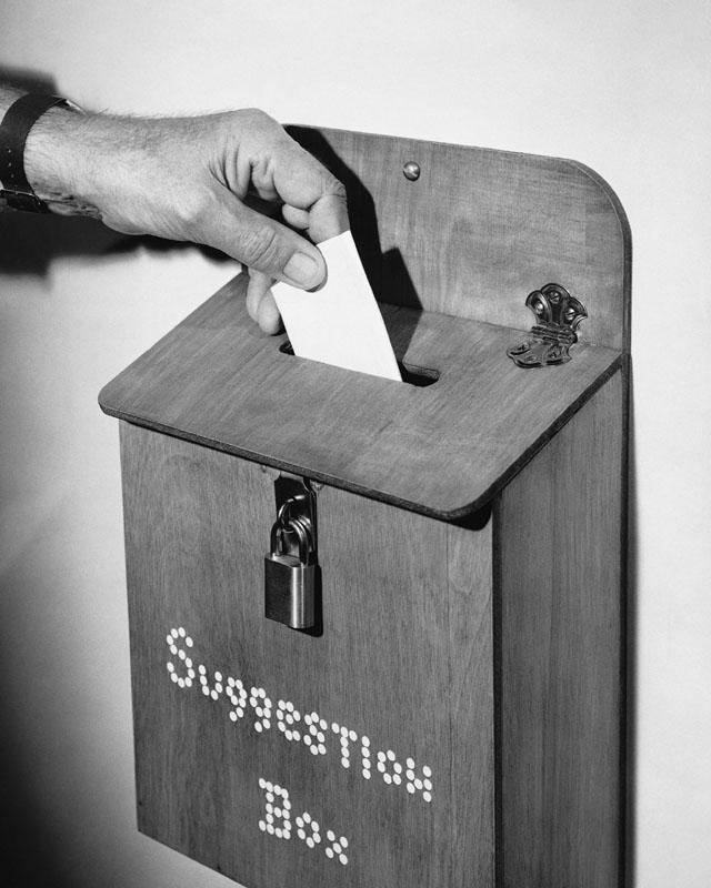 Suggestion Box vintage image