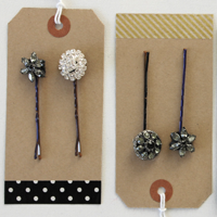 Jeweled hairpins 200