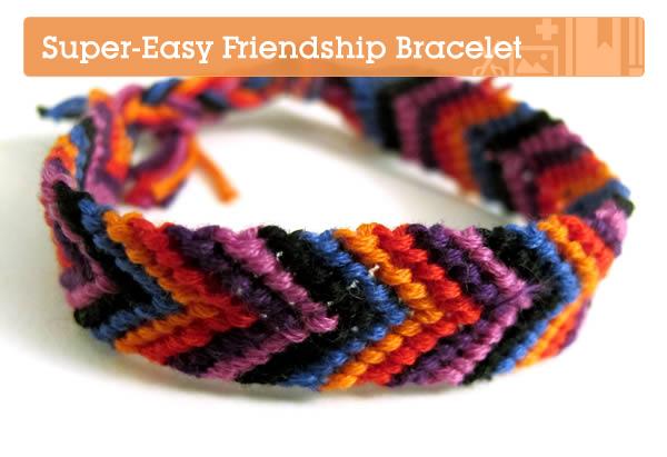 Super Easy Friendship Bracelet