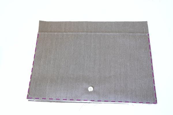 Sew the Large Slip Pockets